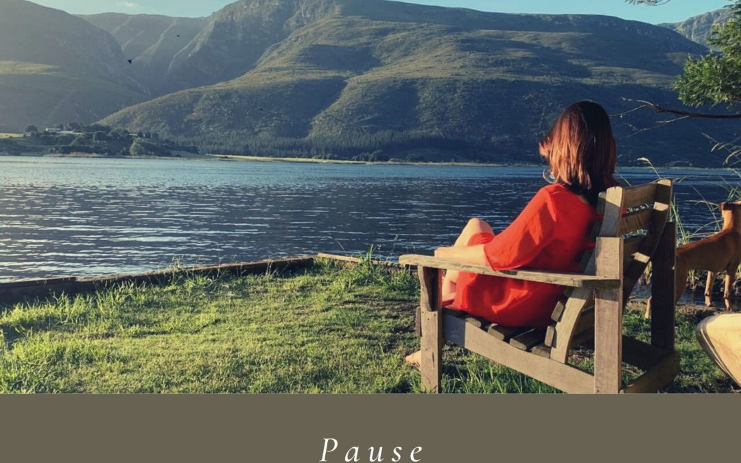 Pause: Now is the time to reflect