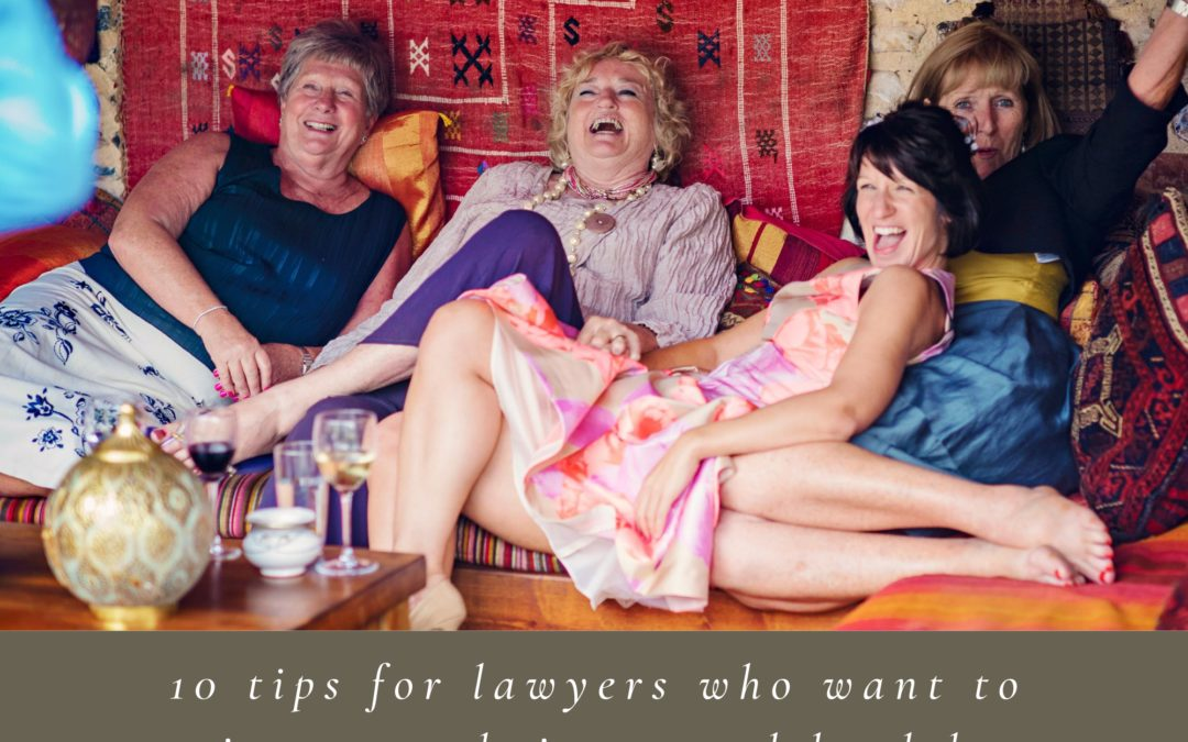 10 tips for lawyers who want to improve their mental health