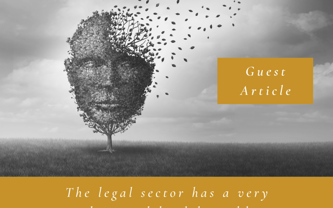 The legal sector has a very real mental health problem