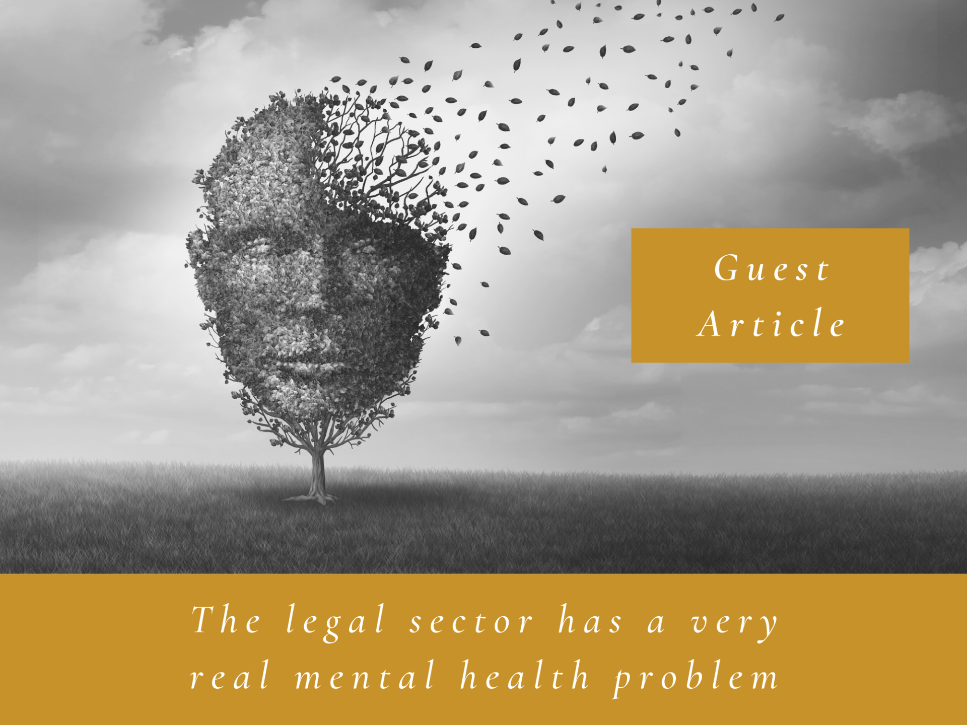 Blog 2 - The legal sector has a very real mental health problem