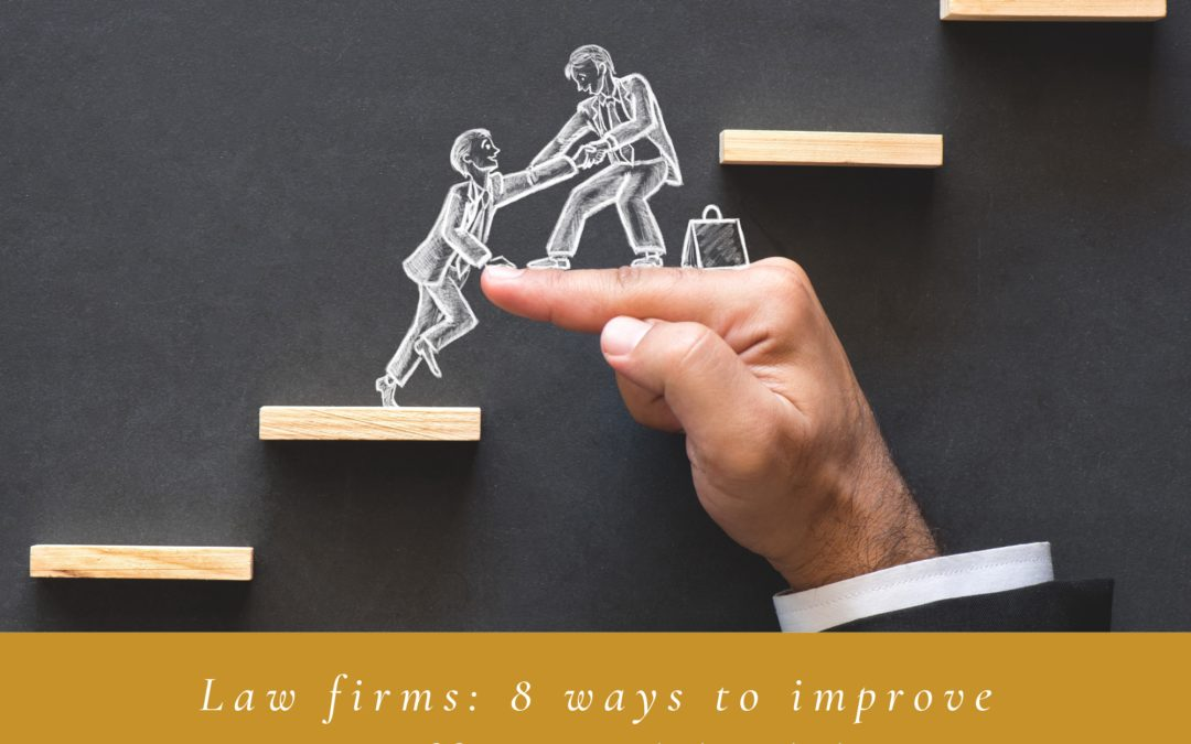 Law firms: 8 practical ways to improve staff mental health