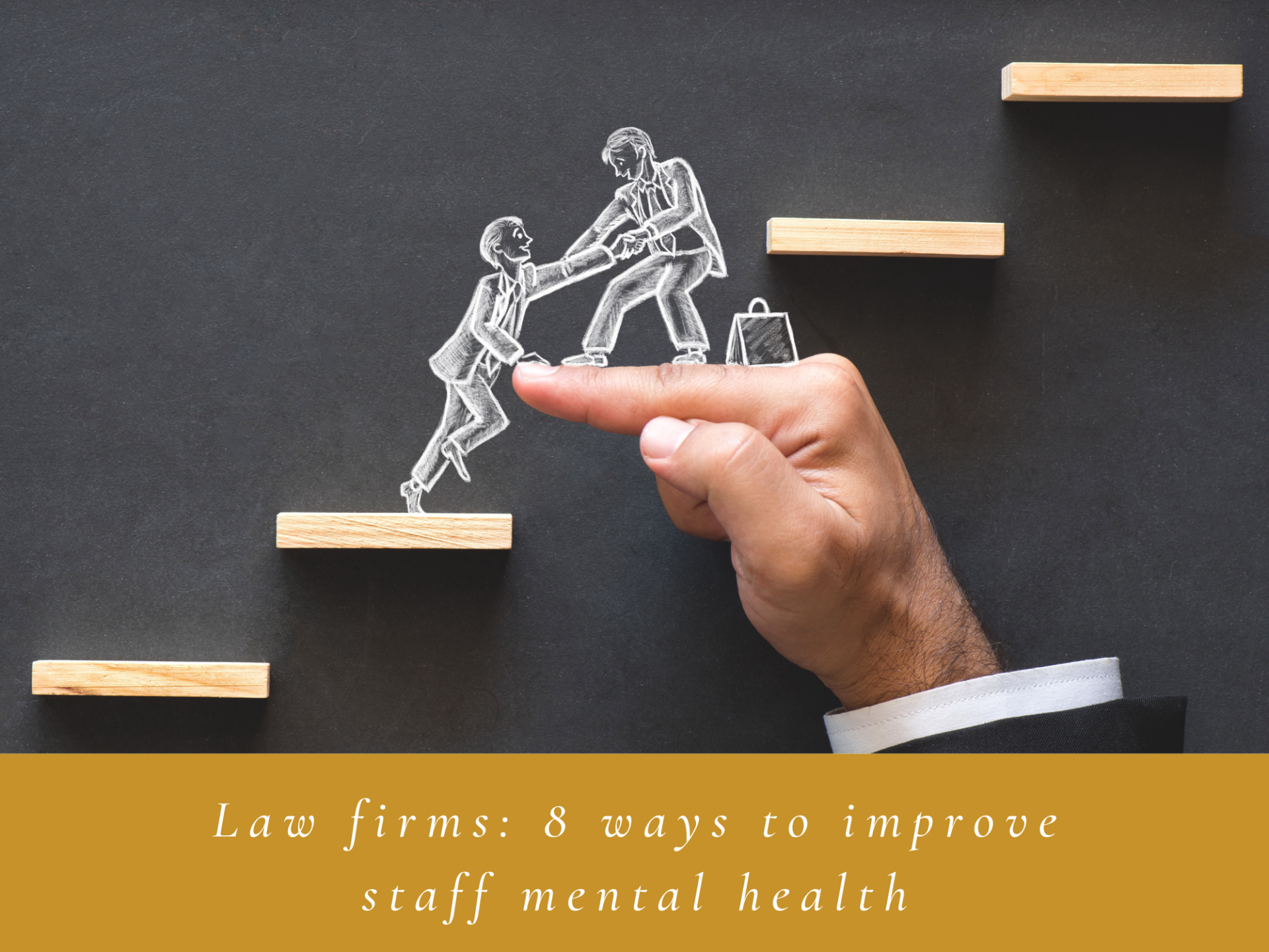 8 ways to improve staff mental health in law firms