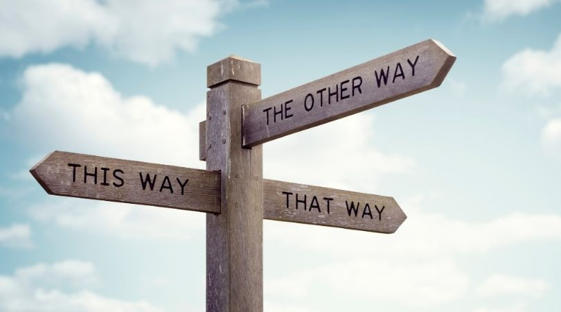 Which direction should i take?