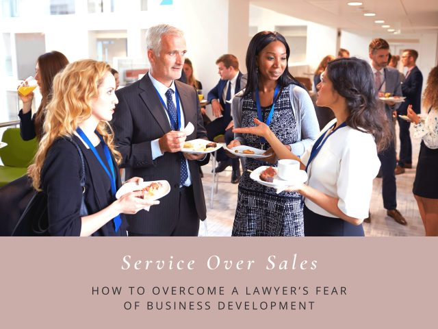 How to overcome a lawyer's fear of business development