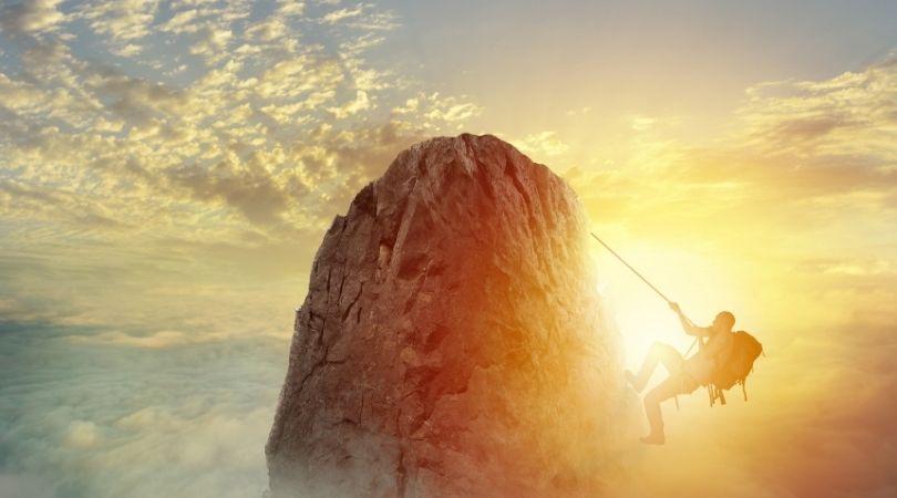 daunting mountain to climb